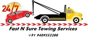 24*7 Car towing & repair service by FastnSure